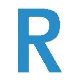 Symbolklistremerke med pil for universal knott